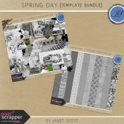 Spring Day- Template Bundle