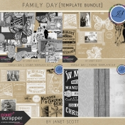 Family Day- Template Bundle