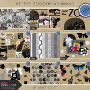 At the Zoo- Template Bundle