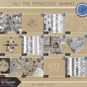 All the Princesses- Template Bundle