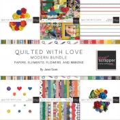 Quilted With Love- Modern Bundle