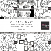 Oh Baby, Baby- Template Bundle