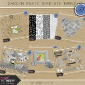 Garden Party- Template Bundle