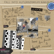 Fall Into Autumn- Template Bundle