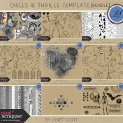 Chills and Thrills Template Bundle