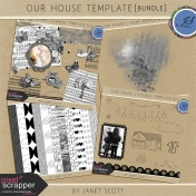 Our House Template Bundle