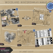 Woodland Winter- Template Bundle