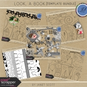 Look, a Book!- Template Bundle