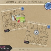 Summer Splash- Template Bundle
