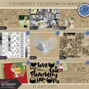 Strawberry Fields- Template Bundle