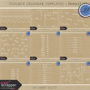 Toolbox Calendar Templates 1 Bundle