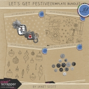Let's Get Festive- Template Bundle