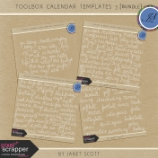 Toolbox Calendar 3- Template Bundle