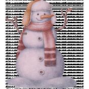 PS Blog Train Jenuary 2021- Snowman