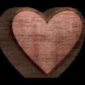 PS Blog Train February 2021- Wood Heart