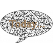 Annabel Speech Bubble Wordart Today