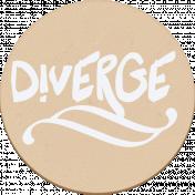 """::Pearl:: Wordart """"diverge"""""""