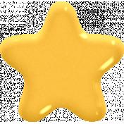 ::Rory:: Plastic Yellow Star