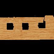 ::Phoebe:: Wood Veneer Notebook Edge