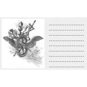 ::Sci-Fi Kit:: Time Travel 3x5 Journal Card