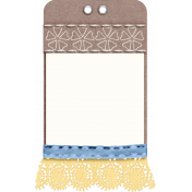 ::Serenella Kit:: Decorated Tag