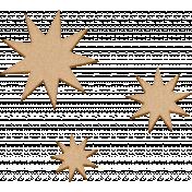 ::Seth Kit:: Wood Veneer Stars