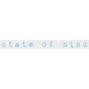 ::Bohemian Rhapsody Kit:: State of Mind Wordart