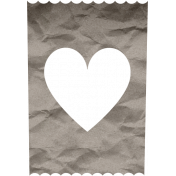 ::Fall in Love Kit:: Crumpled Paper Heart