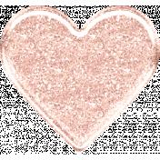 Alistair West Kit: Glitter Heart