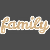 Alira Kit: Family Wordart