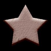 Rebecca Kit: Chipboard Star 01