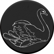 Rebecca Kit: Chipboard Swan