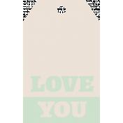 """Rebecca Kit: """"Love You"""" Tag"""