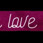 """Rebecca Kit: """"Love"""" Twill"""