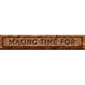 """Rebecca Kit: """"Making Time For"""" Wordart"""