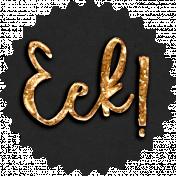 Elvira: Elements: Eek! Label