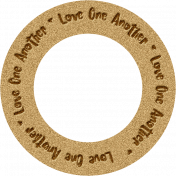 """Joy: WA Ring """"Love One Another"""""""