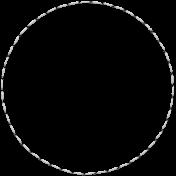 Edwina Alvie Kit:  Stitched Circle 4in