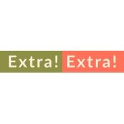 Delilah Elements Kit: WA Extra! Extra!