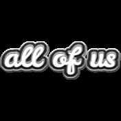 Felicity: WA All of Us