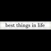 Felicity: WA Best Things In Life