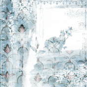 Vintage Blue Distressed Shabby Chic Wallpaper Background