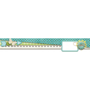 Turquoise Yellow Border Cluster