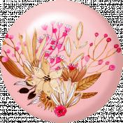 Pink & Orange Floral Flair 3