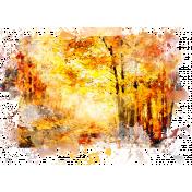 Grateful Artsy Blendable Watercolor Transfer