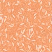 Grateful Collab: Orange Leaves Paper 3