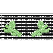 Green Ceramic Laurel 03