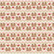 Christmas Gingerbread Cookies Paper 08