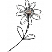 Flower Cluster: Doodle, Stamp and Button