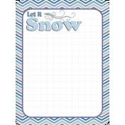 Winter Frost Journal Card 1